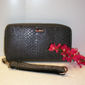 JEWELL by thirty-one Gray Organizer Wristlet